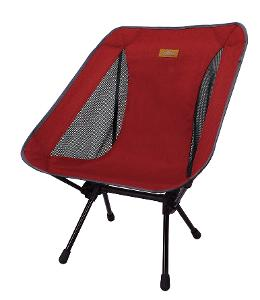 snowline chair Lasse dark red